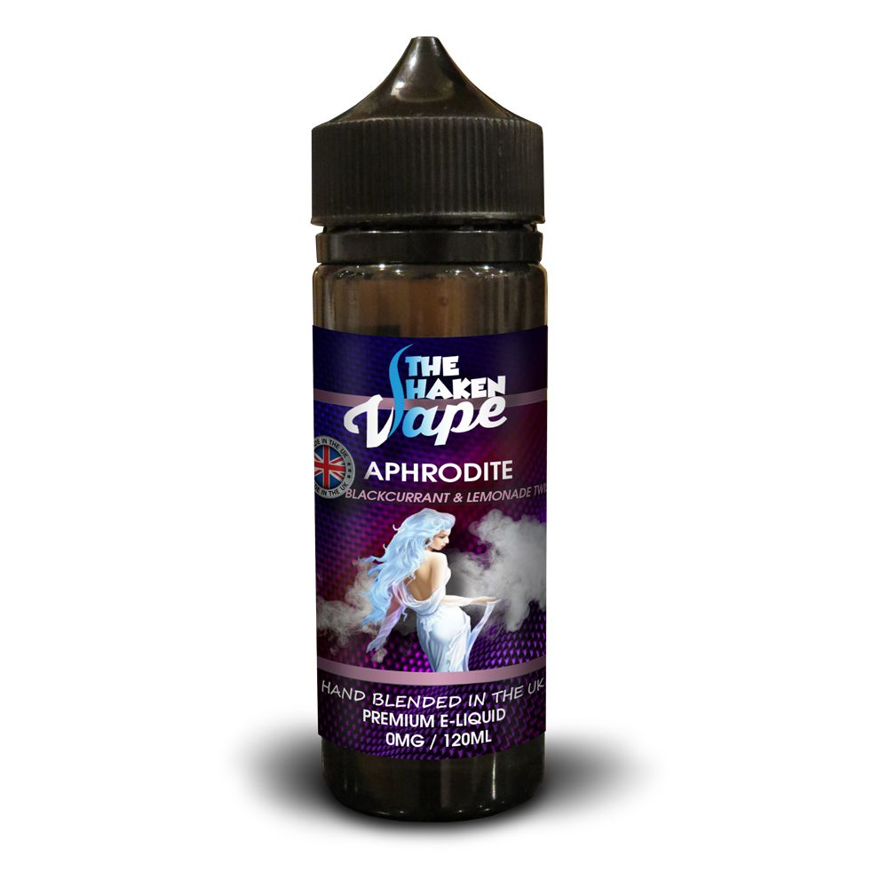 Aphrodite 120ml Shortfill Eliquid